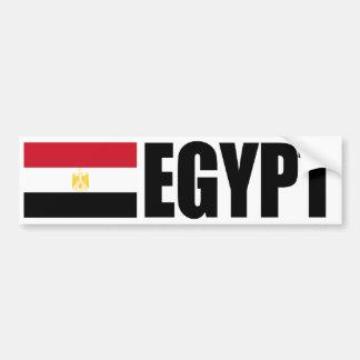 Ägypten-Flagge Autoaufkleber