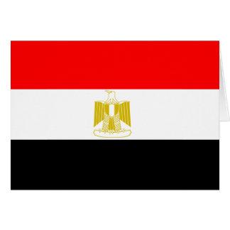 Ägypten-Flagge Karte