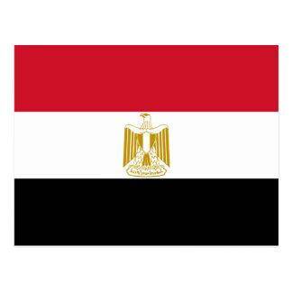 Ägypten-Flaggen-Postkarte
