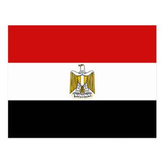 Ägypten-Flaggen-Postkarte Postkarte