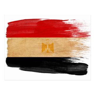Ägypten-Flaggen-Postkarten Postkarte