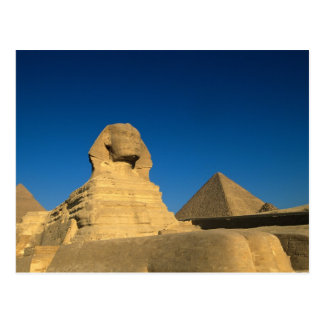 Ägypten, Giseh, die Sphinx, altes Königreich, Postkarte