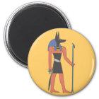 Ägypten Gottheit Anubis egypt deity Runder Magnet 5,7 Cm