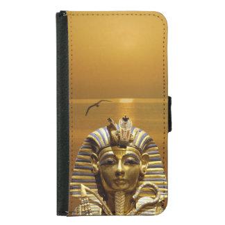 Ägypten-König Tut Samsung Galaxy S5 Geldbeutel Hülle