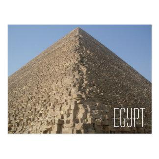 Ägypten-Pyramide-Postkarte Postkarte