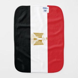 ÄGYPTISCHE FLAGGE BABY SPUCKTUCH