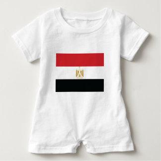 ÄGYPTISCHE FLAGGE BABY STRAMPLER