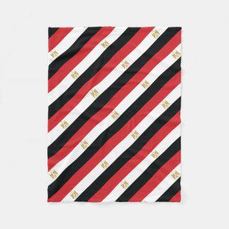 ÄGYPTISCHE FLAGGE FLEECEDECKE