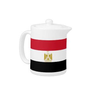 Ägyptische Flaggen-Teekanne