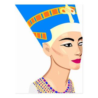 Ägyptische Königin Nefertiti Postkarte