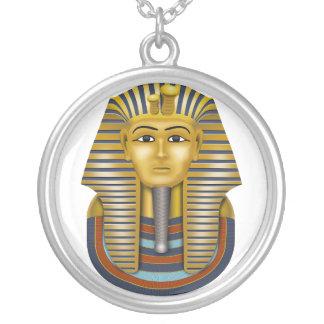 Ägyptische Mama Versilberte Kette