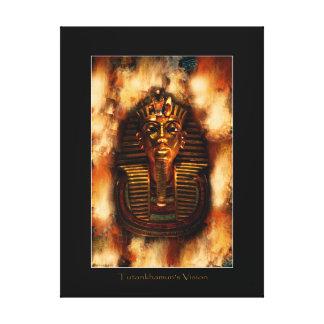 Ägyptische Pharao Tutankhamen Kunst-Studie II Leinwanddruck