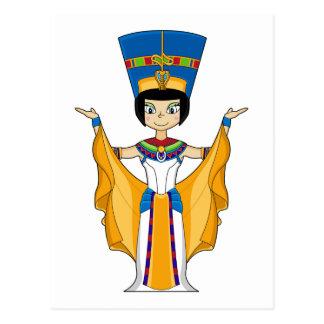 Ägyptische Postkarte der Königin-Nefertiti