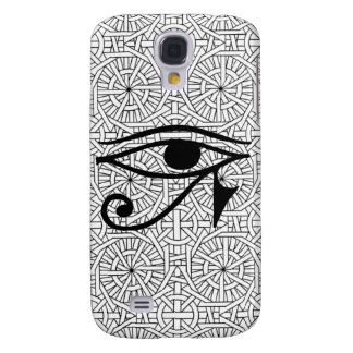 Ägyptischer Augen-u. des Muster-HTC klarer starker Galaxy S4 Hülle