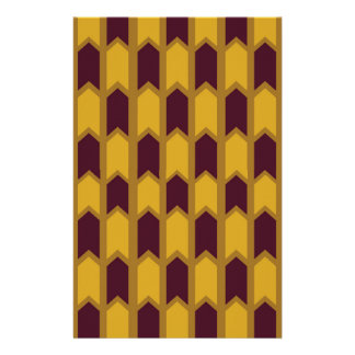 Ägyptischer Goldplatten-Zaun Briefpapier