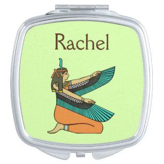 "Ägyptischer Göttin-Namensspiegel ""Rachel"" Schminkspiegel"
