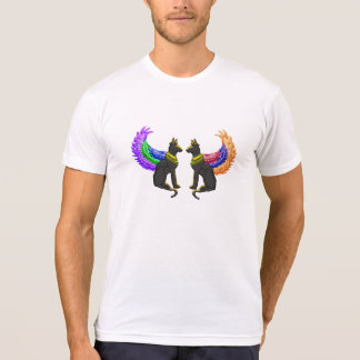 ägyptischer Hund mit Flügeln T-Shirt