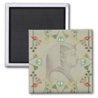 Ägyptischer Pharao-Magnet Quadratischer Magnet