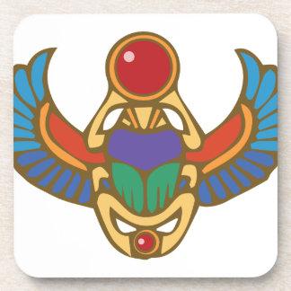 Ägyptischer Scarabäus Untersetzer