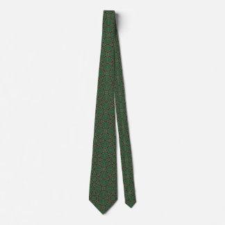 Ägyptisches arabisches geometrisches Muster im Personalisierte Krawatten