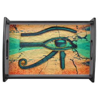 Ägyptisches Auge von Horus - Ra Tablett