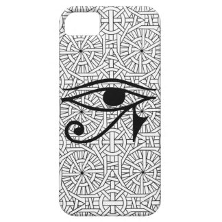 Ägyptisches Augen-u. Muster-Case-Mate iPhone 5 Barely There iPhone 5 Hülle
