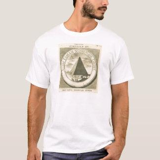 Ägyptisches christliches Symbol Vintage 1677 T-Shirt