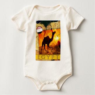 Ägyptisches Kamel Baby Strampler
