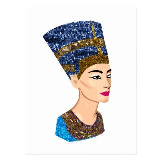 ägyptisches Königin nefertiti Postkarte