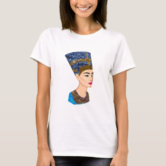 ägyptisches Königin nefertiti T-Shirt