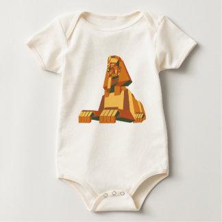 ägyptisches Sphinxgeschöpf Baby Strampler