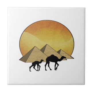 Ägyptisches Überschreiten Keramikfliese