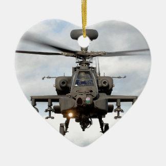 ah 64 Apachelongbow helocopter Militär Keramik Ornament