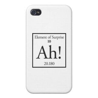 Ah Element der Überraschung iPhone 4 Hüllen