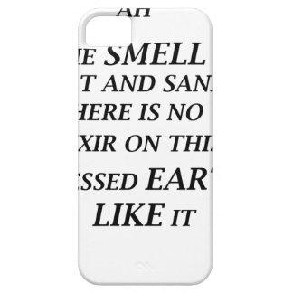 ah ist der Geruch des Salzes und des Sandes dort Etui Fürs iPhone 5