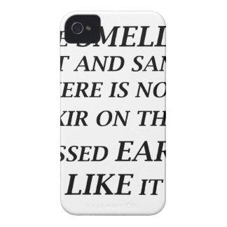 ah ist der Geruch des Salzes und des Sandes dort iPhone 4 Case-Mate Hülle