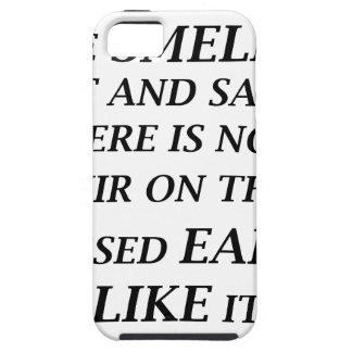 ah ist der Geruch des Salzes und des Sandes dort iPhone 5 Schutzhülle