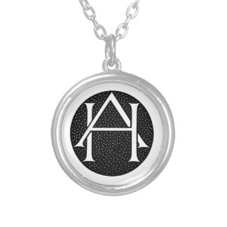 AH Monogramm Amulett