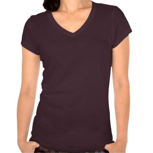Ahimsa V-Hals Damen-T-Stück Shirt
