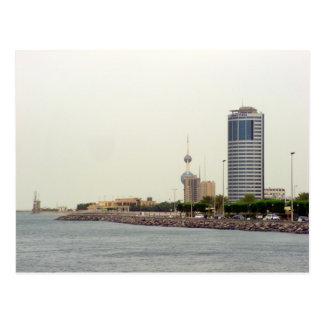 Ahmad Turm, Kuwait-Stadt Postkarte