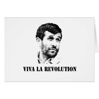Ahmadinejad - Viva Larevolution Karte