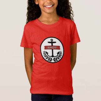 Ahoi - der Bella der Mädchen+Leinwand-Jersey-T - T-Shirt