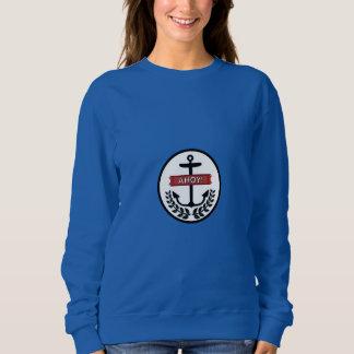 Ahoi - grundlegendes  das Sweatshirt der Frauen