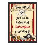 Ahoi Kamerad! Piraten-Geburtstags-Einladung für