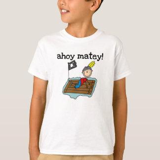 Ahoi kameradschaftlicher Pirat T-Shirt