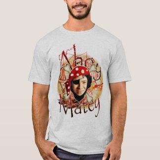 Ahoi kameradschaftlicher Piraten-Foto-T - Shirt