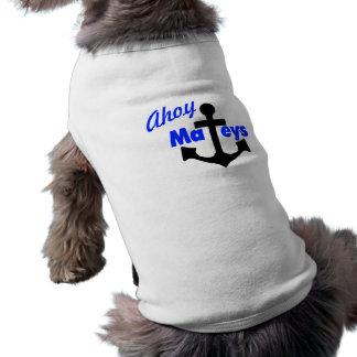Ahoi Mateys mit Anker T-Shirt