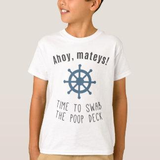 Ahoi Mateys! Zeit, die gekackteplattform T-Shirt