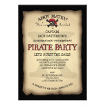 Ahoi Schatz-Karten-Piraten-Geburtstags-Party