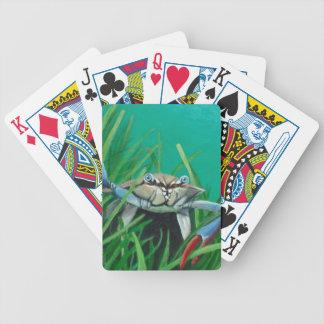 Ahoi treffen die Unterwasser-Seekrabbe Bicycle Spielkarten